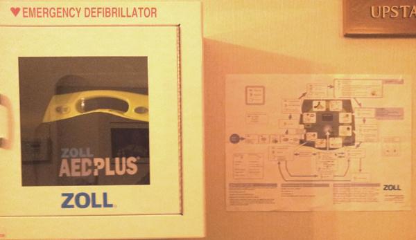 Lodge Defibrillator
