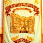 St Osyth's Priory lodge no 2063 banner