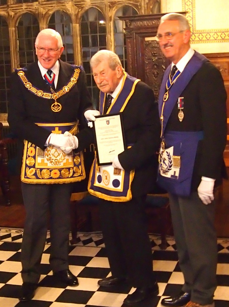 70 years in Masonry